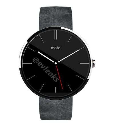 The last leak from evleaks, the Motorola Moto 360
