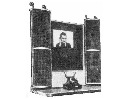 Germany's videophone service, 1936