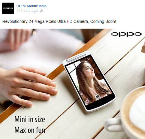 """The Oppo N1 mini is coming to India - Oppo N1 mini tipped in India with """"revolutionary"""" 24MP ultra HD camera"""