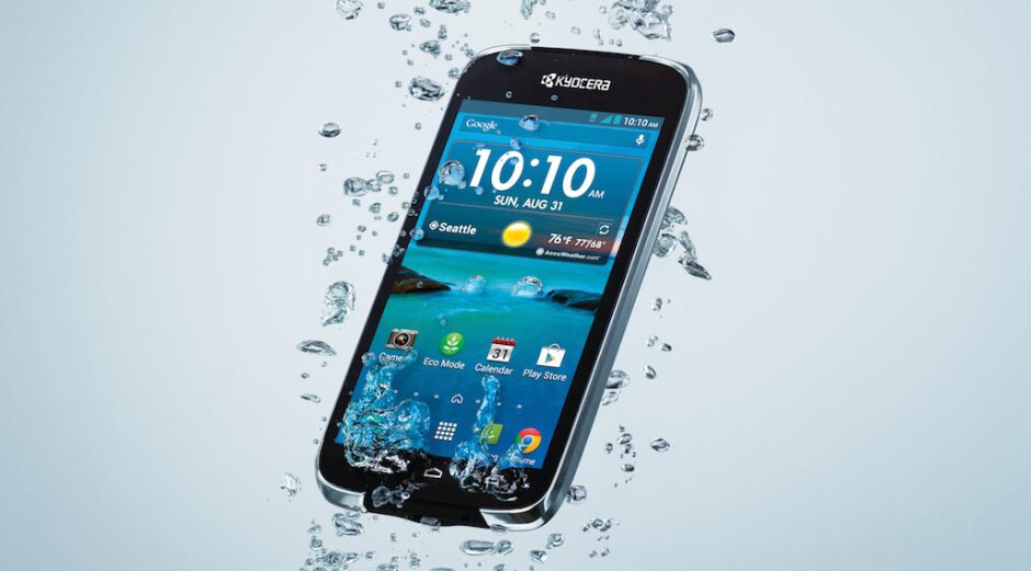 Kyocera announces the Hydro Life for T-Mobile and MetroPCS, invents new word