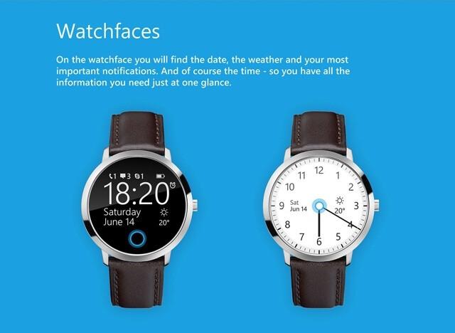 Circular concept of Microsoft smart-watch gets Cortana and ...