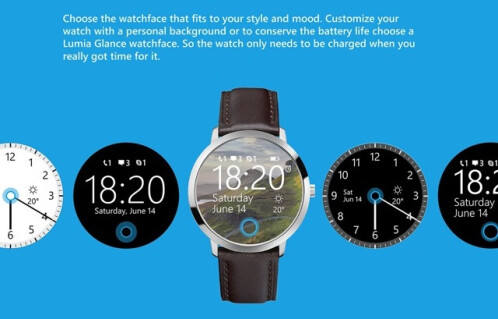 Microsoft smart-watch concept