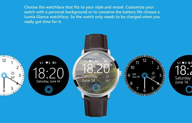Circular concept of Microsoft smart-watch gets Cortana and ...