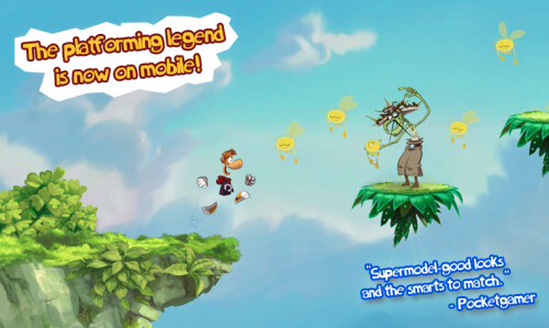 Rayman Jungle Run - $0.99, down from $3.60