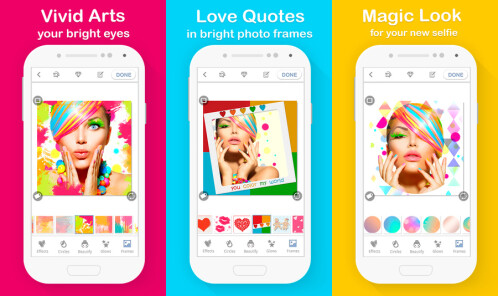 Try a camera app made for selfies