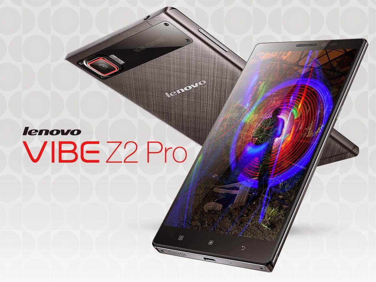 Sforum - Trang thông tin công nghệ mới nhất 2014-07-31-VibeZ2Pro-3 Lenovo chính thức tung ra Vibe Z2 Pro - Màn hình 6 inch, độ phân giải 2K
