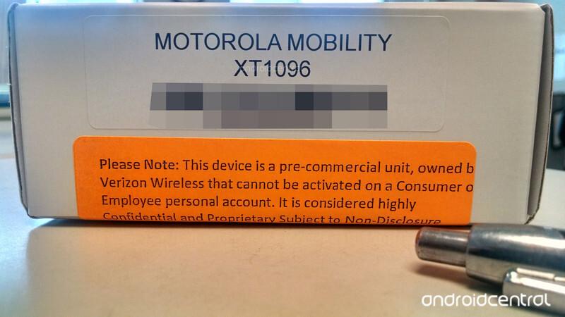 Mystery box shows Motorola device headed for Verizon (X+1?)