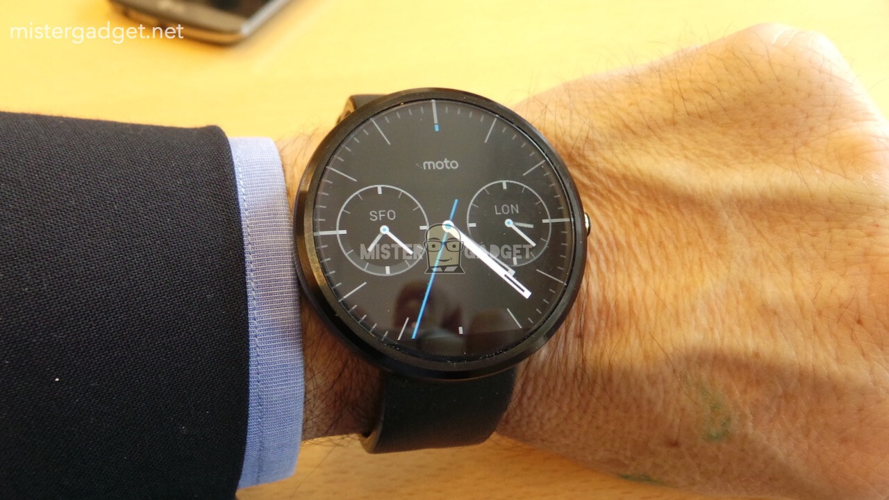 Moto 360 And Its Secretive Charger Get Snapped Steel