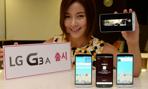 LG G3 A, official images