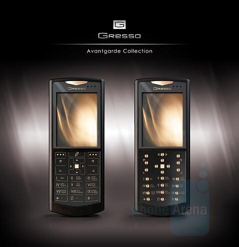 Luna and Sol - Gresso Avantgarde Collection - Avantgarde: Gold in WM Smartphones by Gresso
