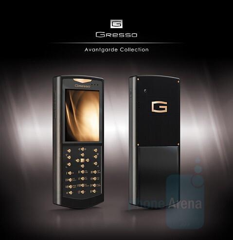 Sol - Gresso Avantgarde Collection - Avantgarde: Gold in WM Smartphones by Gresso
