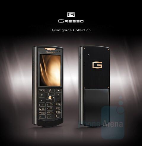 Luna - Gresso Avantgarde Collection - Avantgarde: Gold in WM Smartphones by Gresso