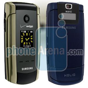 Samsung U700 Gleam and A513 - Samsung U700 Gleam for Verizon and A513 for Helio