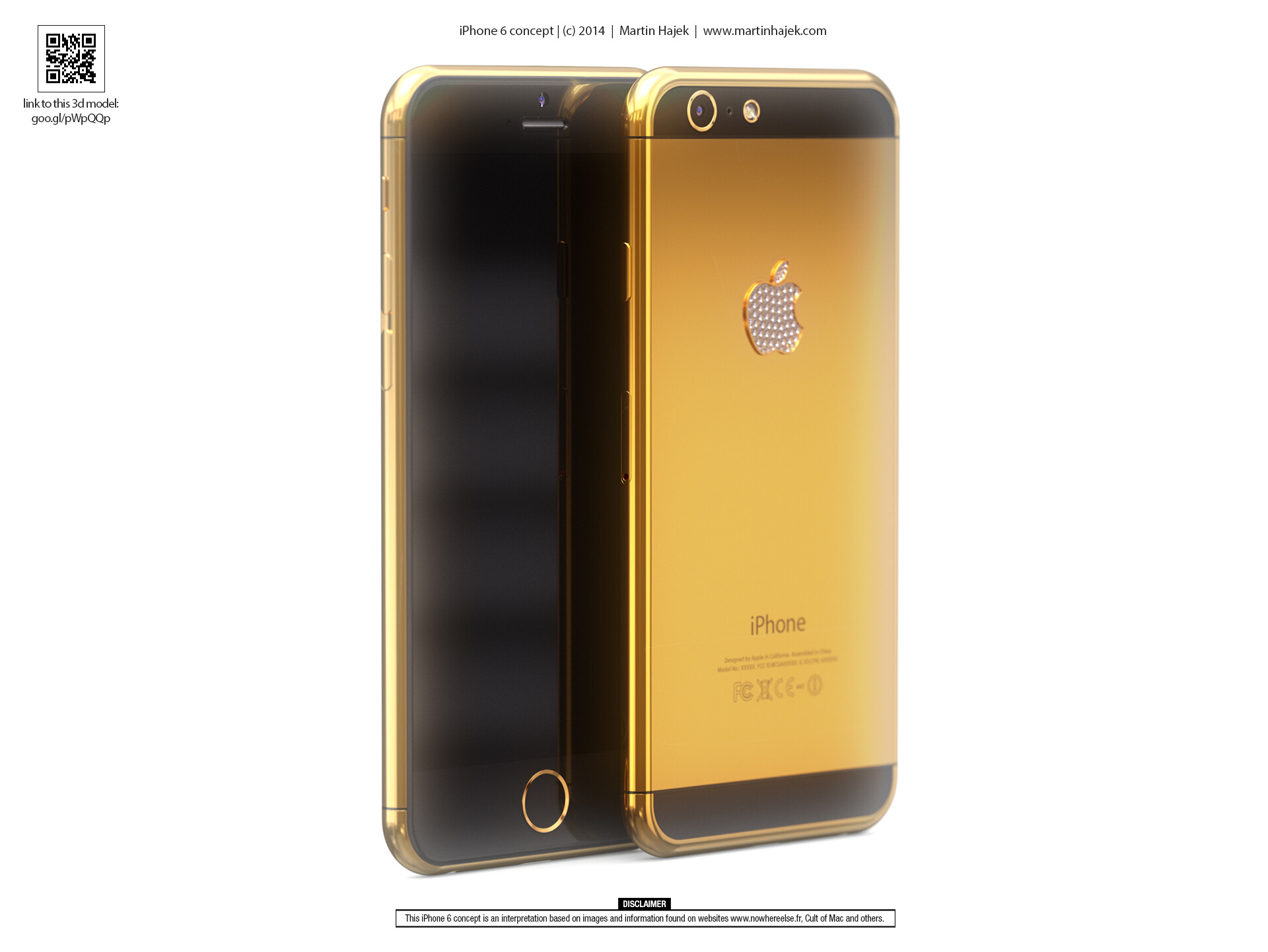 Concept: hereu0026#39;s what a luxury, gold-plated iPhone 6 may look like
