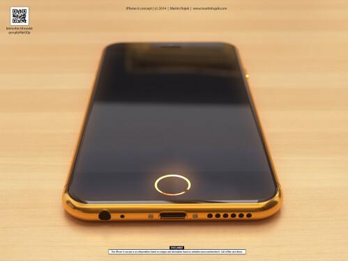 Luxury iPhone 6 concept design