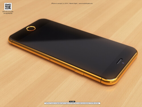 Luxury iPhone 6 concept design