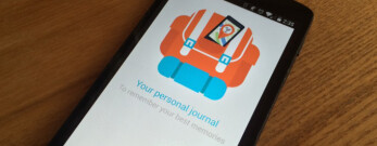 Rove for Android autologs your pictures and travels to fuse them in a beautiful life journal