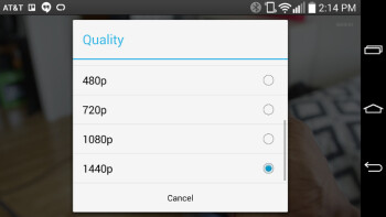 YouTube now plays 1440p videos on the LG G3
