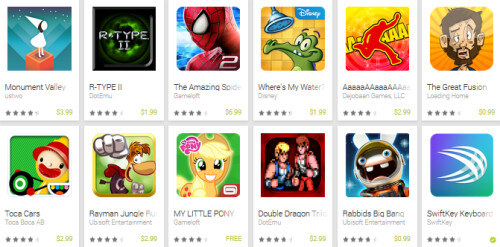 Google discounts fifty apps from the Google Play Store