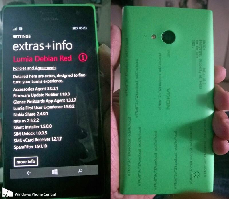 Nokia Lumia 730 (Superman) specs allegedly revealed