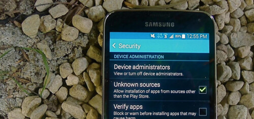 Avoid suspicious apps and apps from unknown sources