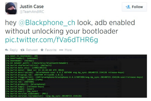 Blackphone Rooted