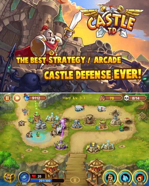 Castle Defense (aka Castel TD)
