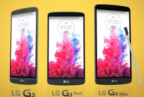 LG G3 Stylus appeared in the original video