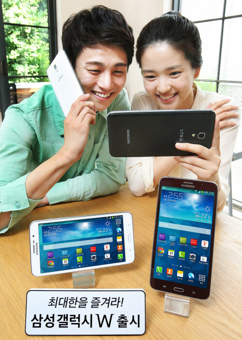 7 tablets with phone functionality (you can call them giant