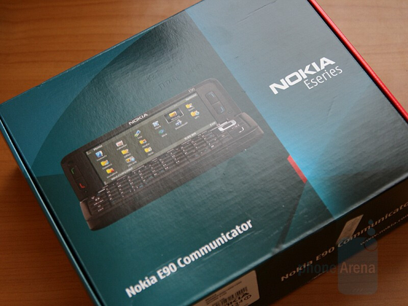 the box - Hands-on with Nokia E90