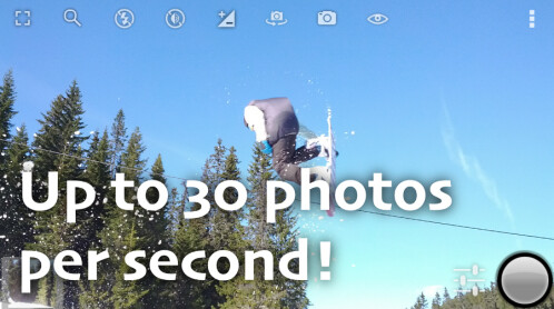 Fast Burst Camera - $1.00, down from $3.99