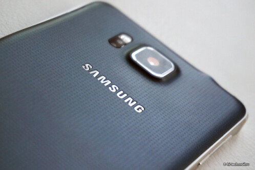 Samsung Galaxy Alpha design pictures and press images
