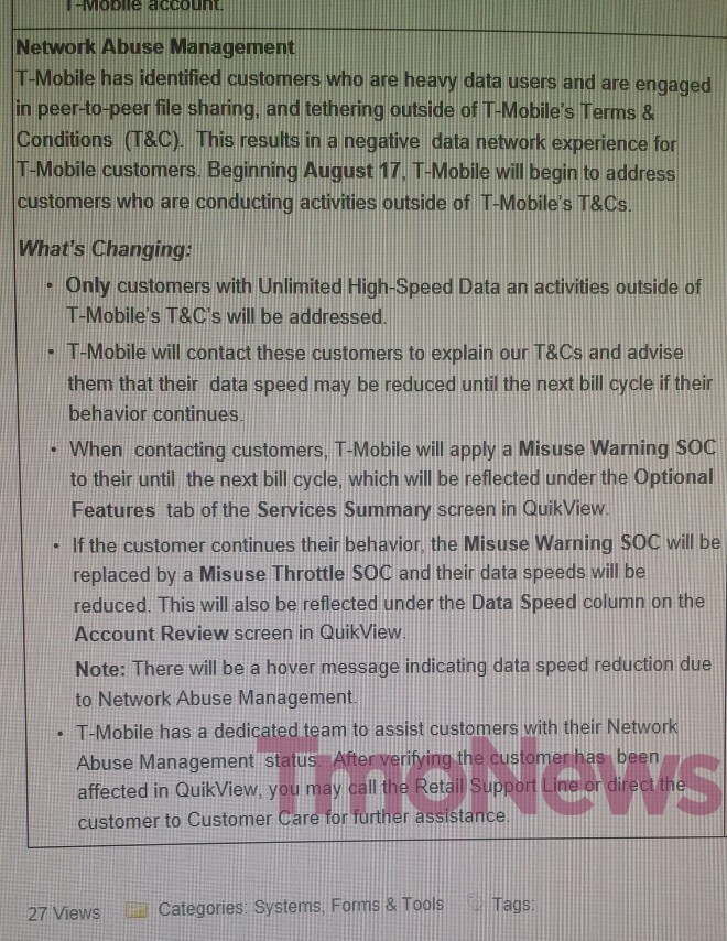 T-Mobile will restrain data-hungry LTE users who download torrents over LTE, too