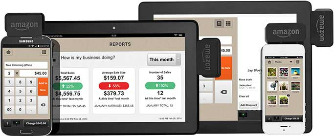 Amazon takes on PayPal and Square with mobile payment accessory