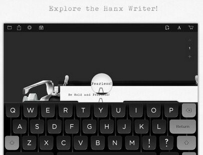 Tom Hanks' Hanx Writer recreates the feel, sound and look of a typewriter for the Apple iPad