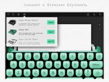 Tom Hanks develops typewriter app for the Apple iPad