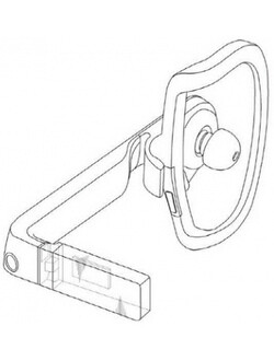 Samsung patent for a Google Glass-like device