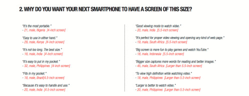 Infographic shows why manufacturers continue producing large-screened smartphones