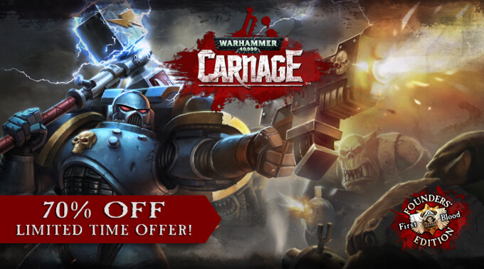Warhammer 40,000: Carnage gets discounted on both Google Play and the Apple App Store