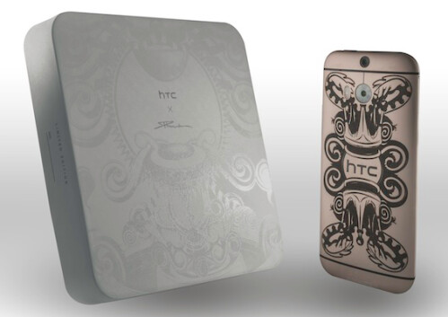 Phunk Studio limited edition of the HTC One (M8)