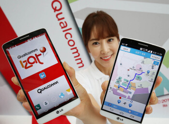 LG G3 is the world's first to make use of Qualcomm's IZat indoor location technology (only in Korea)