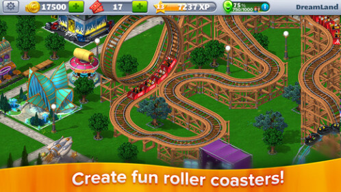 RollerCoaster Tycoon 4 Mobile - free