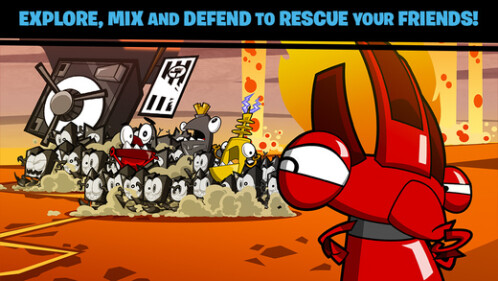 Calling All Mixels - $0.99, down from $3.99