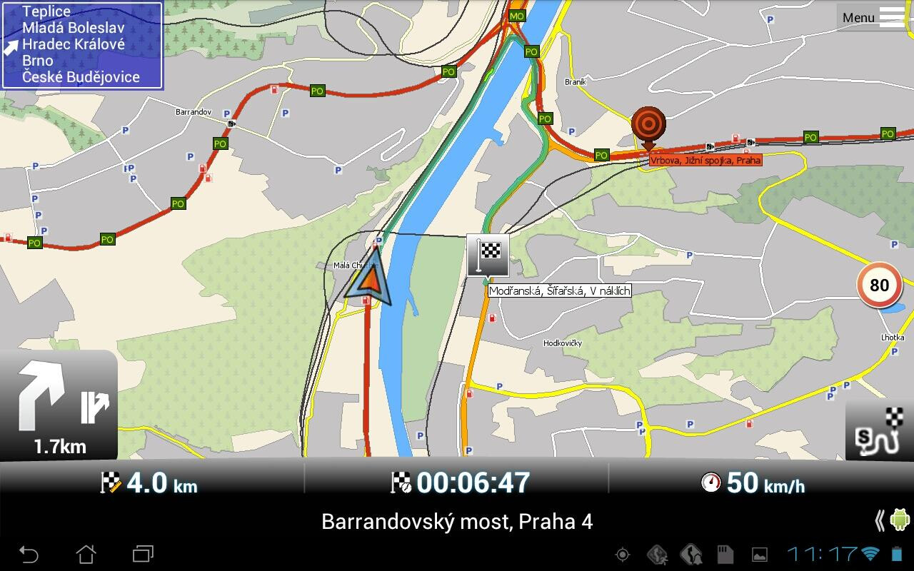 sygic s gps navigation maps app is among the most popular when