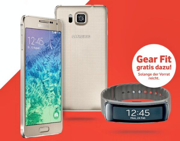 Samsung Galaxy Alpha to come with a free Gear Fit at Vodafone?
