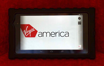 Flight crew on Virgin America will be using the Nexus 7 to serve you better