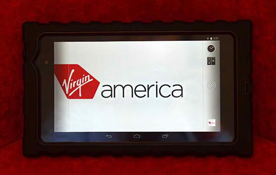 Flight crew on Virgin America will be using the Nexus 7 to serve you better - Virgin America flight crews taking off with the Nexus 7
