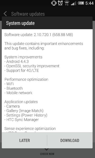 Android 4.4.3 is coming to the HTC One (M8) in India, carrying support for 4G LTE