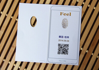 A fingerprint scanner is tipped to being aboard