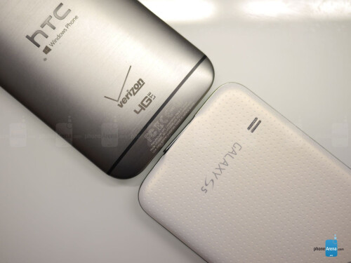 HTC One M8 for Windows Phone vs Samsung Galaxy S5 first look